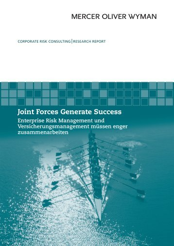 Joint Forces Generate Success - Oliver Wyman