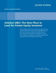 Aviation MRO: The Next Place to Land for Private ... - PlaneStats