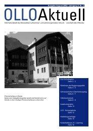 Ausgabe August 2002 / Jahrgang 5, Nr. 5 - OLLO