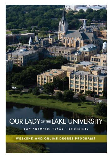 weekend and online degree programs - Our Lady of the Lake ...