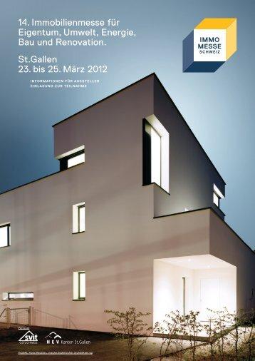 14. Immobilienmesse für Eigentum, Umwelt, Energie, Bau und ...