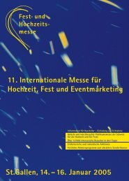 1_Ausstellermappe05 walpen - Olma Messen St.Gallen