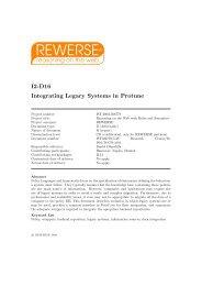 I2-D16 Integrating Legacy Systems in Protune - Daniel Olmedilla