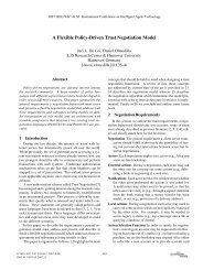 A Flexible Policy-Driven Trust Negotiation Model - REWERSE