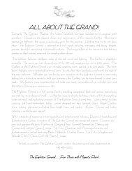 Bar Bat Mitzvah Package - The Eglinton Grand