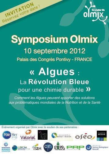 symposium sur les algues - Olmix