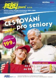 Cestování nejen pro senior - Statutární město Olomouc