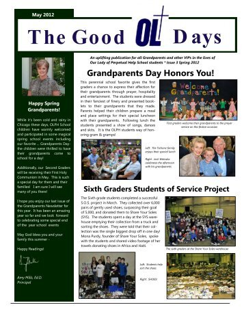 Days The Good - Our Lady of Perpetual Help School