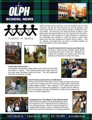 Annual Newsletter 2012 - Our Lady of Perpetual Help School