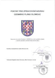 Pokyny pro zpracování návrhu územního plánu - Statutární město ...