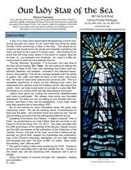 July 15, 2012 - Our Lady Star of the Sea