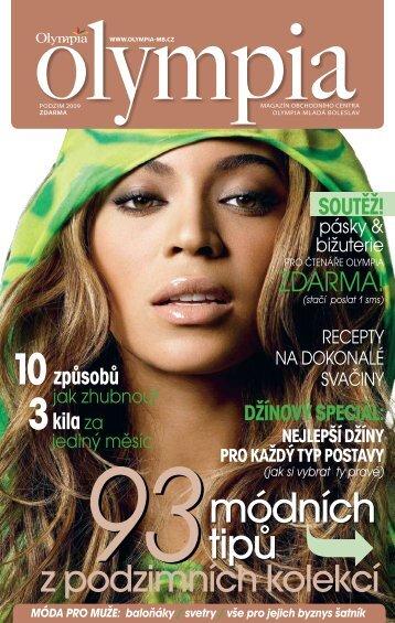 Stáhněte si magazín ve formátu pdf (13 MB) - Olympia Mladá Boleslav