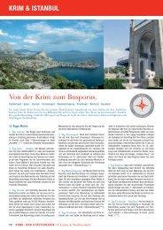 Von der Krim zum Bosporus. KRIM & ISTANBUL - Olympia Reisen