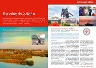 Russlands Süden - Olympia Reisen