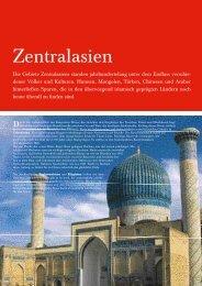 Zentralasien - Olympia Reisen