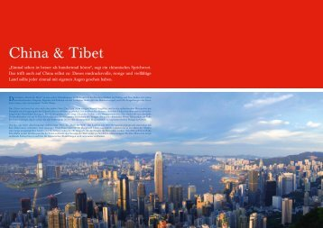 China & Tibet - Olympia Reisen