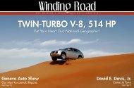 TWIN-TURBO V-8, 514 HP - Duke University