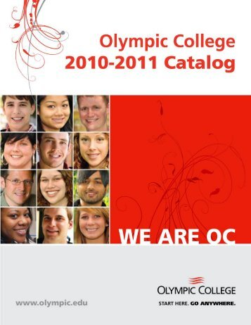 2010-2011 Olympic College Catalog