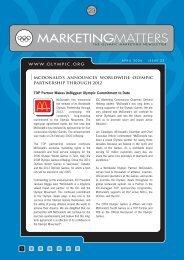 MARKETINGMATTERS - International Olympic Committee