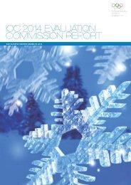 ioc 2014 evaluation commission report - International Olympic ...