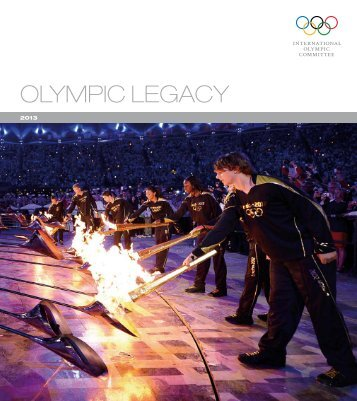 Olympic Legacy Brochure - International Olympic Committee