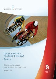 Beijing 2008 - International Olympic Committee