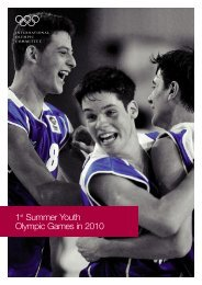 1st Summer Youth - International Olympic Committee