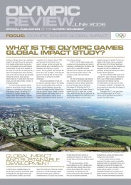 what is the olympic games global impact study? - International ...