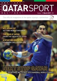 Issue 13 - Qatar Olympic Committee