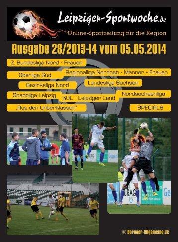 Ausgabe 28/2013-14 vom 05.05.2014