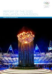 Report - International Olympic Committee