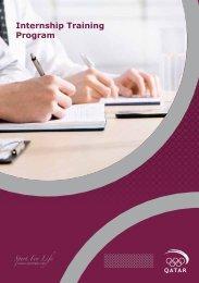 Internship Training Program - Qatar Olympic Committee