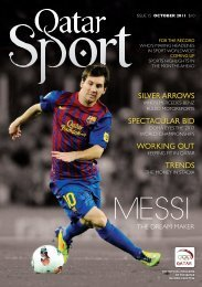 Qatar sport COVER.indd - Qatar Olympic Committee