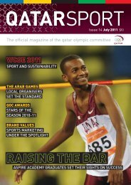 Issue 14 - Qatar Olympic Committee