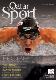 THE GREATEST - Qatar Olympic Committee