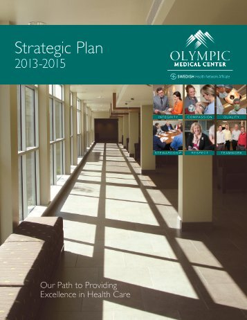 Strategic Plan 2013-2015 - Olympic Medical Center