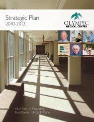 Strategic Plan - Olympic Medical Center