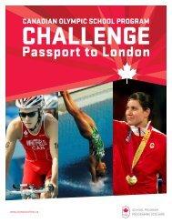Passport to London - Canadian Olympic School Program