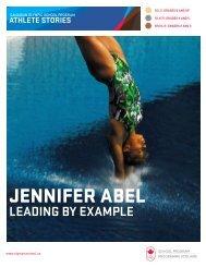 Athlete Stories: Jennifer Abel - Canadian Olympic School Program