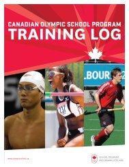 Training Log PDF - Canadian Olympic School Program