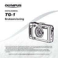 Bruksanvisning TG-1 - Olympus