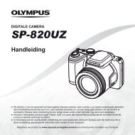 Handleiding SP-820UZ - Olympus