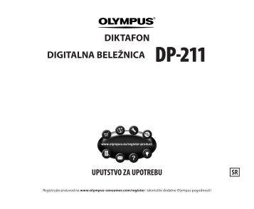 DIKTAFON DIGITALNA BELEŽNICA DP-211 - Olympus