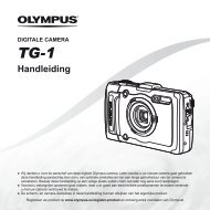 Handleiding TG-1 - Olympus