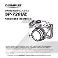 SP-720UZ - Olympus