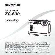Handleiding TG-630 - Olympus