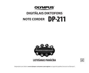 DIGITĀLAIS DIKTOFONS NOTE CORDER DP-211 - Olympus