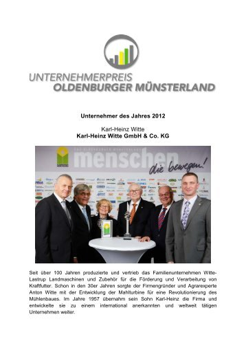 Karl-Heinz Witte - Verbund Oldenburger Münsterland