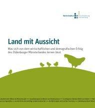 Land mit Aussicht - Berlin-Institut für Bevölkerung und Entwicklung