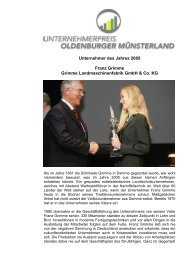 Franz Grimme - Verbund Oldenburger Münsterland